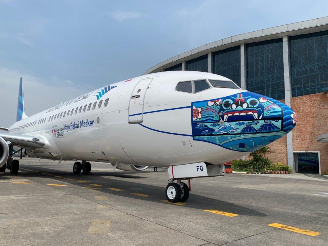 Garuda Indonesia Luncurkan Desain Baru Mask Livery ...
